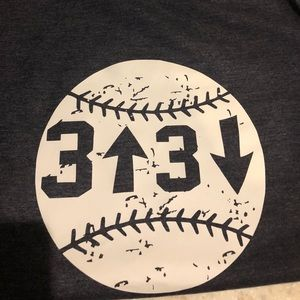 Tops - vintage baseball tee
